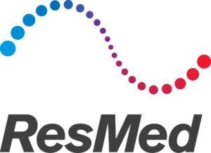 Logo of ResMed for open programs