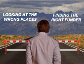 Man finding the right funding